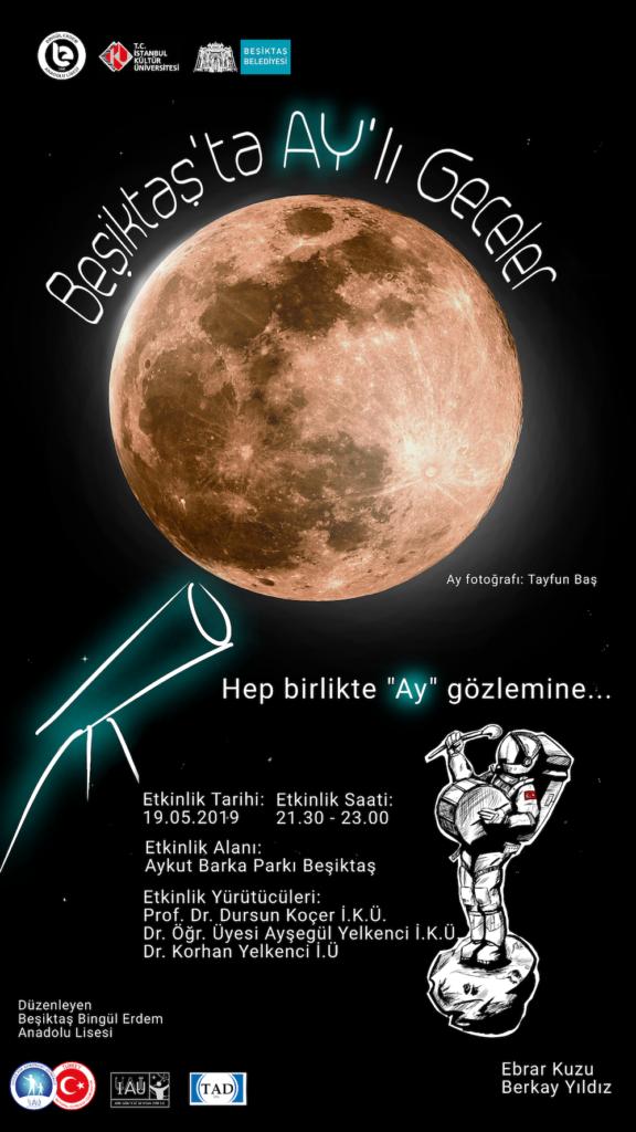 Beşiktaş'ta Ay'lı Geceler @ Beşiktaş Aykut Barka Parkı   İstanbul   Türkiye